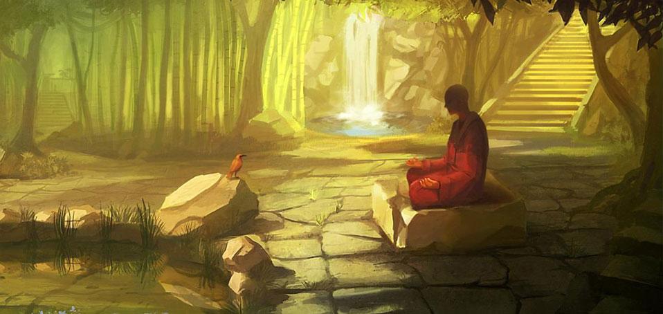 дзен, zen, медитация